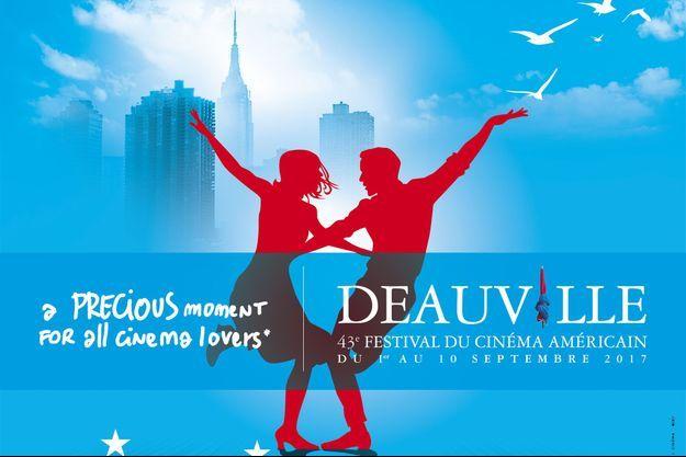 L'affiche du 43e Festival du cinéma américain de Deauville.