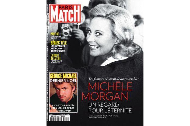 Michèle Morgan en une de Paris Match
