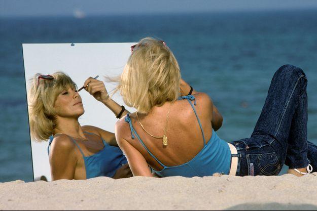 Mireille Darc en mai 1982