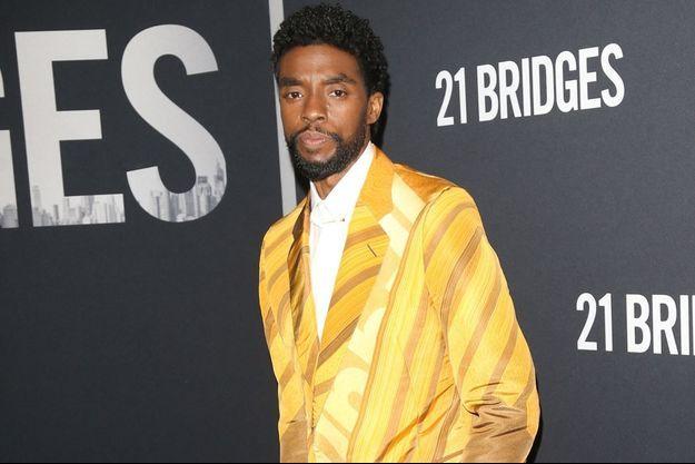 Chadwick Boseman en novembre 2019