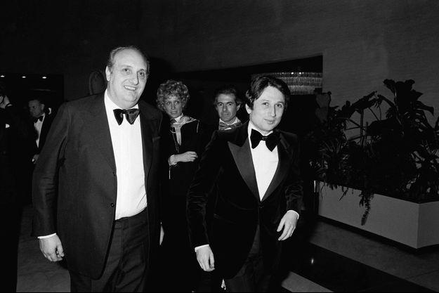 Pierre Tchernia et Michel Drucker en 1978.