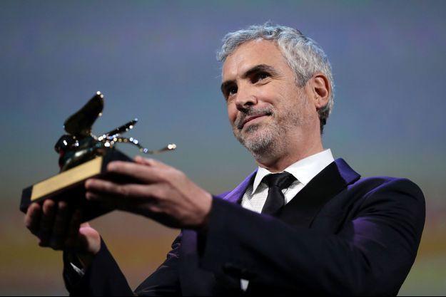 """Alfonso Cuaron a remporté le Lion d'or pour """"Roma""""."""