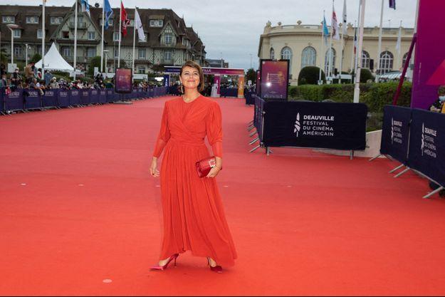 Mounia Meddour, au 46e Festival du cinéma américain de Deauville.