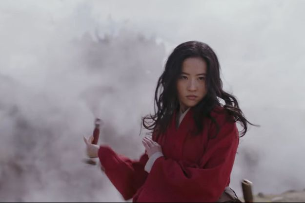 """Liu Yifei dans """"Mulan""""."""