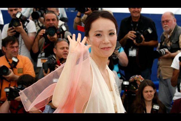 Naomi Kawase, lors du dernier Festival de Cannes