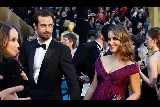 Natalie Portman et Benjamin Millepied à la cérémonie des Oscars 2011