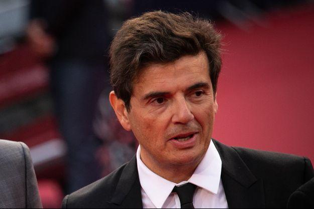 Nicolas Saada sur le tapis rouge du Festival de Deauville.