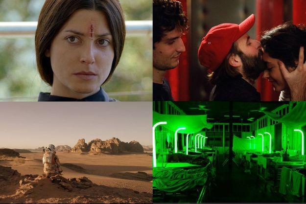 «Seul sur Mars» de Ridley Scott, «Cemetary of Splendour» d'Apichatpong Weerasethakul, «Les Deux amis» de Louis Garrel et «La Nina de Fuego» de Carlos Vermut.