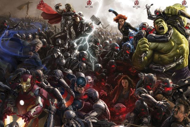 """""""Avengers: l'ère d'Ultron"""", l'un des films les plus attendus du 2015"""