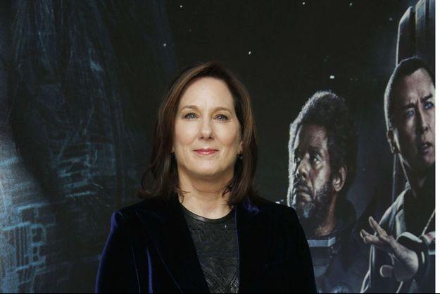 """Kathleen Kennedy à l'avant-première de """"Rogue One : A Star Wars Story"""" à Londres."""