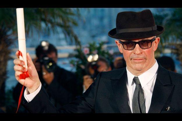 Ici, le réalisateur Jacques Audiard après avoir reçu le Grand prix du jury pour son film «Un prophète» en mai dernier, à Cannes.