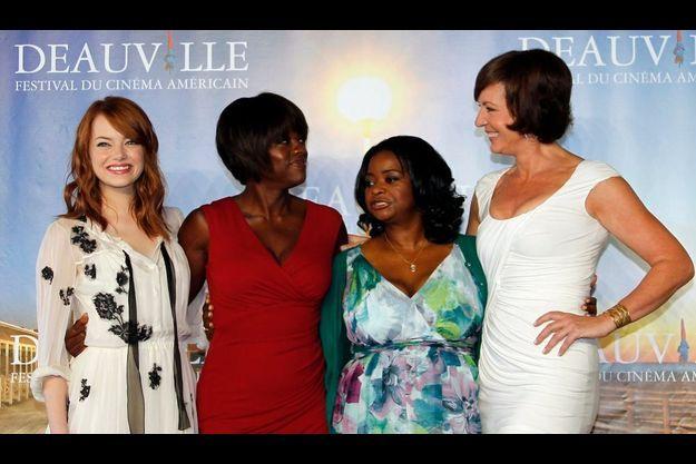 Emma Stone, Viola Davis, Octavia Spencer et Allison Janney.