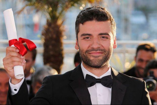 Oscar Isaac était venu chercher le Grand prix du jury du dernier Festival de Cannes, en l'absence des frères Coen.
