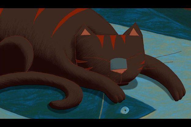 """Une image d'""""Une vie de chat""""."""