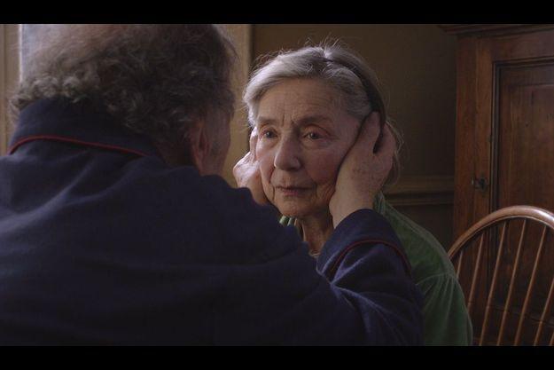"Emmanuelle Riva, dans ""Amour"" de Michael Haneke."