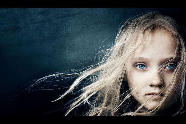 """Cosette dans """"Les Misérables""""."""
