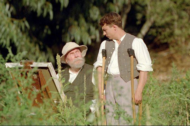 """Michel Bouquet et Vincent Rottiers dans """"Renoir"""""""