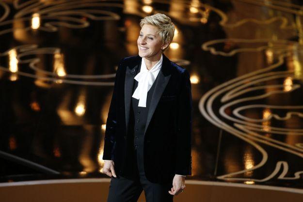 Ellen DeGeneres est la présentatrice de la cérémonie.