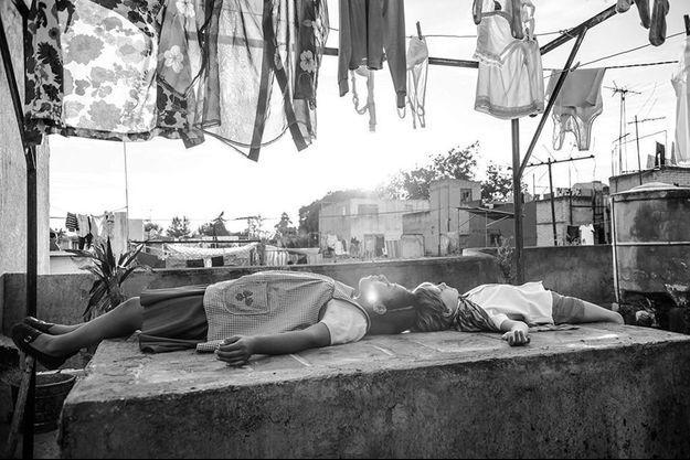 """Une image de """"Roma"""" d'Alfonso Cuaron"""