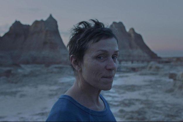 """Frances McDormand dans """"Nomadland"""", le favori des Oscars."""