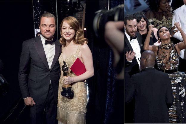DiCaprio Emma Stone