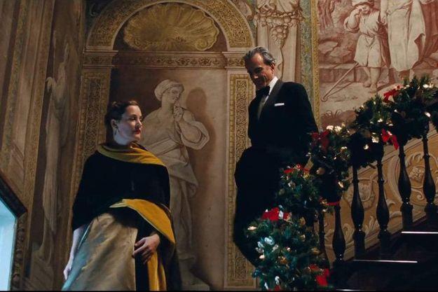 Alma (Vicky Krieps) et Reynolds Woodcock (Daniel Day-Lewis) dans «Phantom Thread».