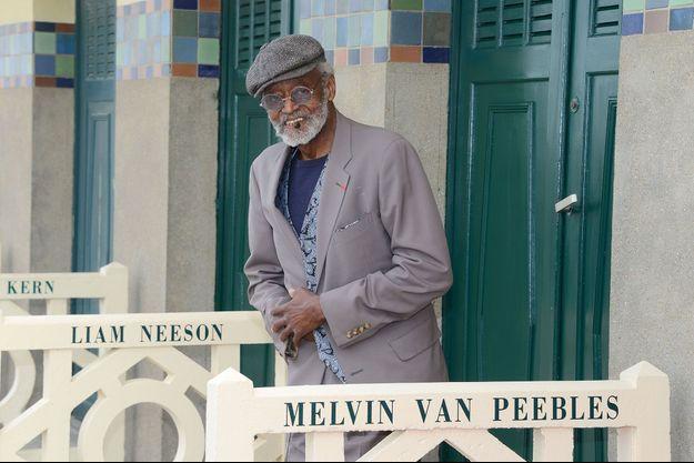 L'écrivain et réalisateur américain Melvin Van Peebles avait été honoré au Festival de Deauville en 2012.