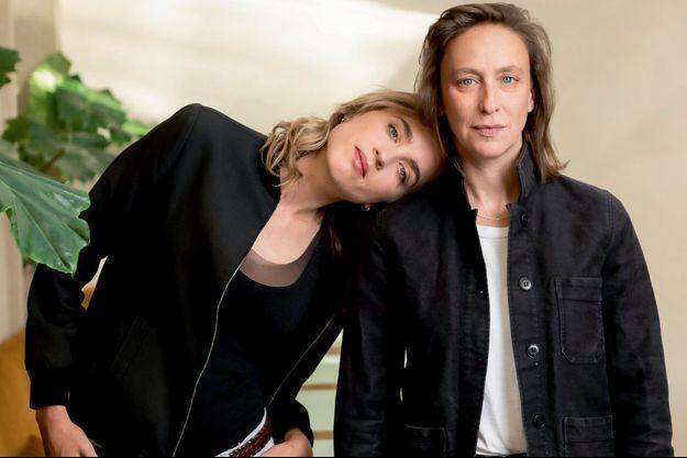 Adèle Haenel et Céline Sciamma