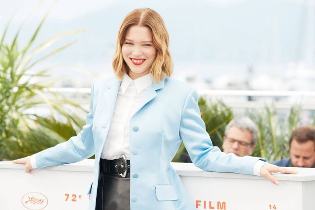 Léa Seydoux au Festival de Cannes en mai 2019.
