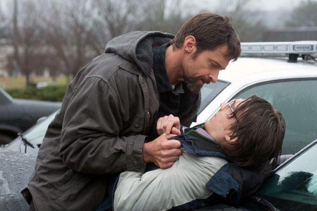 "Hugh Jackman et Paul Dano dans ""Prisoners""."