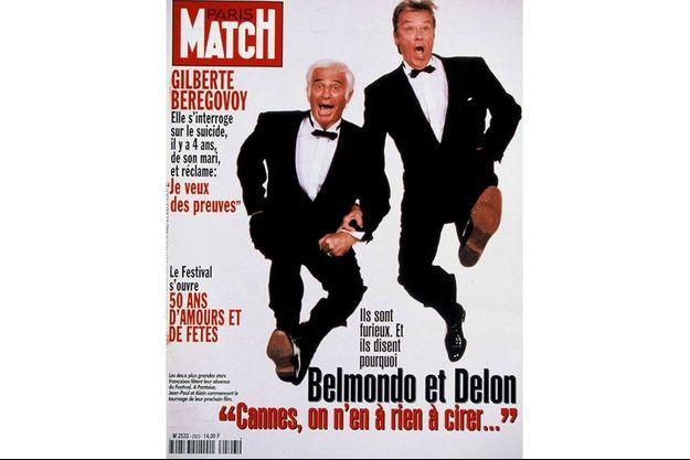 La couverture du numéro du 15 mai 1997 de Paris Match