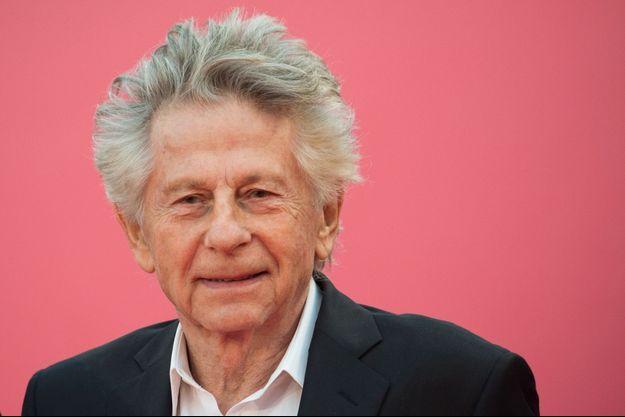 Roman Polanski sur le tapis rouge du Festival de Deauville.