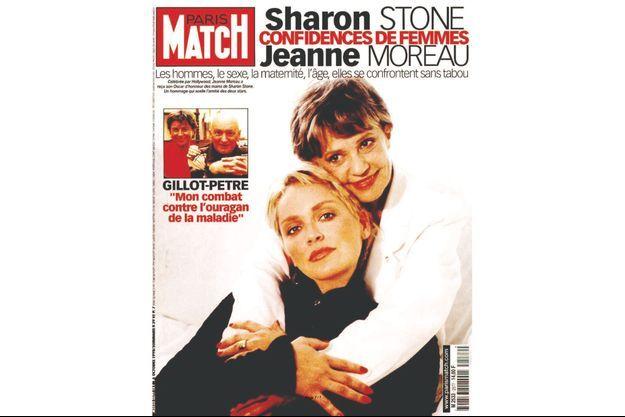 La couverture du numéro 2577 de Paris Match