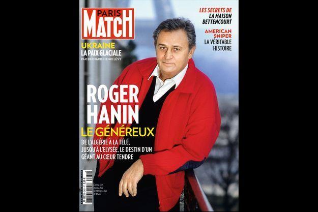 Roger Hanin en couverture du numéro 3431 de Paris Match
