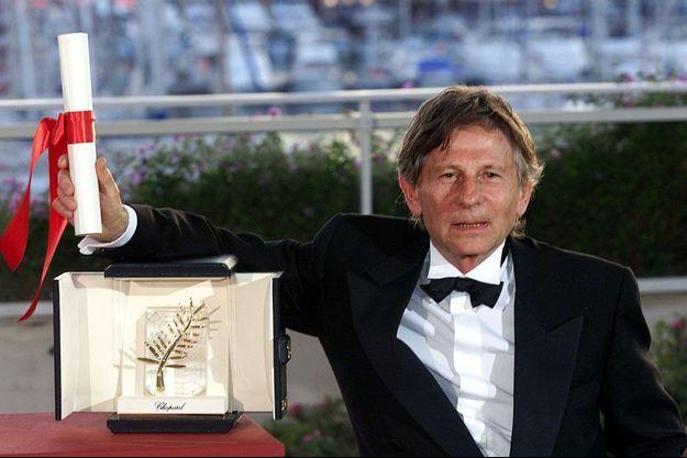 """Roman Polanski a obtenu la Palme d'or pour """"Le Pianiste"""" en 2002."""