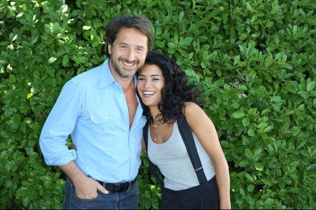 Edouard Baer et Sabrina Ouazani lors du Festival d'Angoulême 2016.