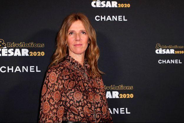 Sandrine Kiberlain lors de la soirée de révélation des César à Paris le 13 janvier 2020.
