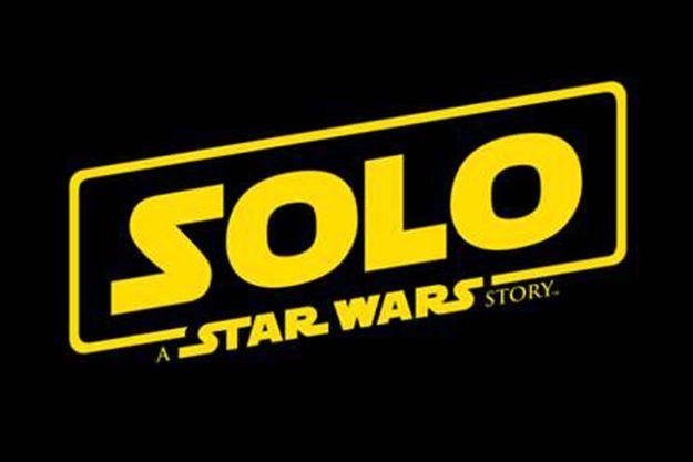 "Le logo de ""Solo, A Star Wars Story"""