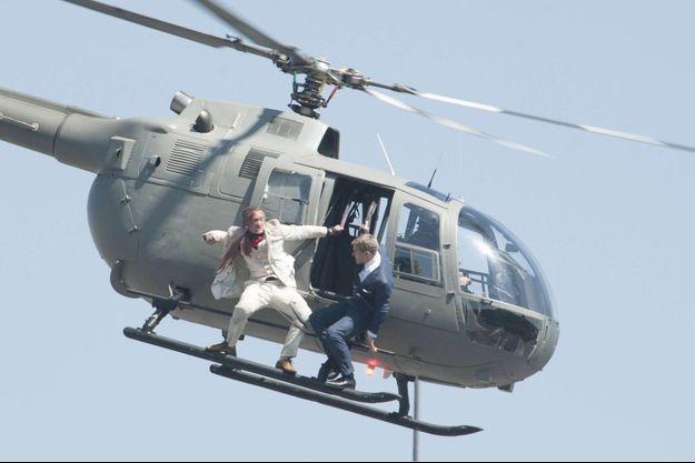 Une scène d'action tournée au Mexique pour le film «SPECTRE».