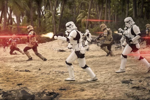 "Une image extraire de ""Star Wars : Rogue One"""