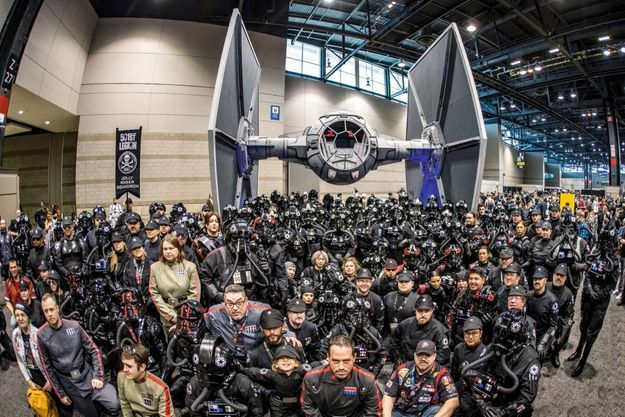 La grande messe Star Wars à Chicago.