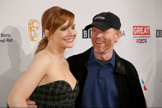 Ron Howard accompagné de sa fille Bryce Dallas Howard.