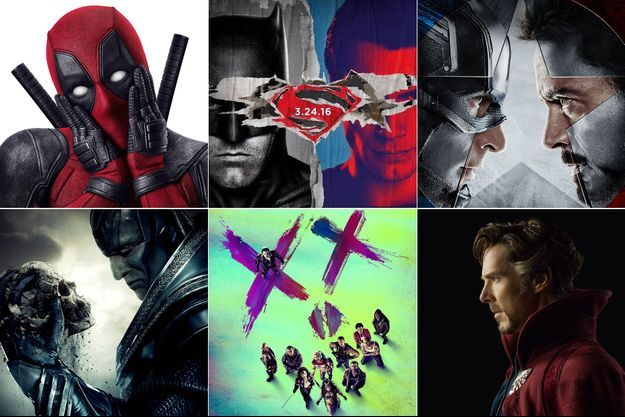 Marvel et DC Comics : la liste des films 2016
