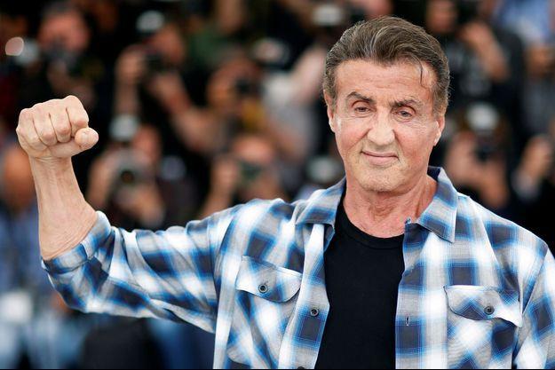 Sylvester Stallone lors du 72e Festival de Cannes.