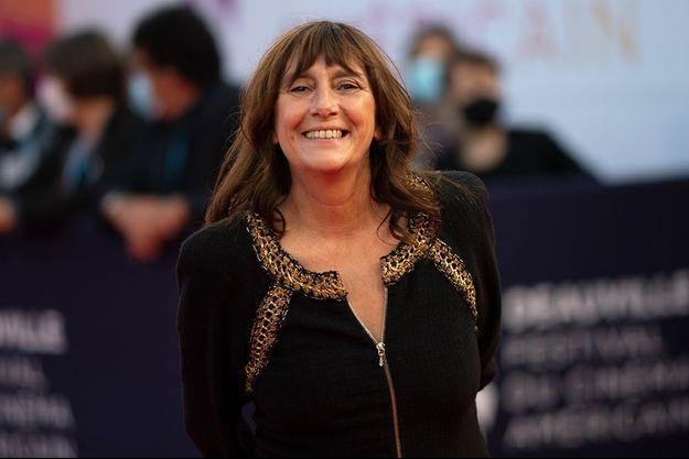 Sylvie Pialat lors du 46e Festival du cinéma américain de Deauville.