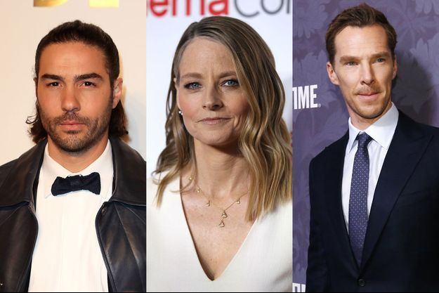 Tahar Rahim, Jodie Foster et Benedict Cumberbatch