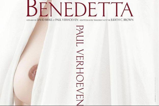 """L'affiche """"teaser"""" de """"Benedetta"""" de Paul Verhoeven."""