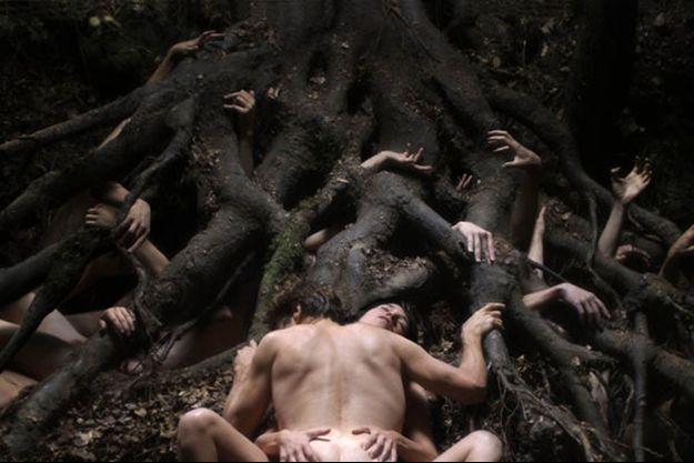 "Willem Dafoe et Charlotte Gainsbourg dans ""Antichrist"" de Lars von Trier."