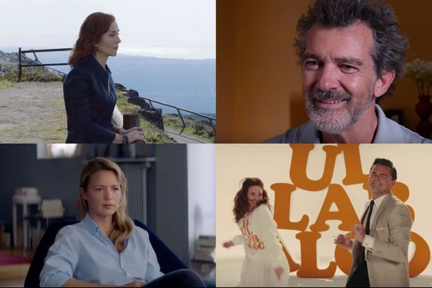 """De gauche à droite, de haut en bas, """"Frankie"""", """"Douleur et gloire"""", """"Sibyl"""" et """"Once Upon a Time in Hollywood""""."""