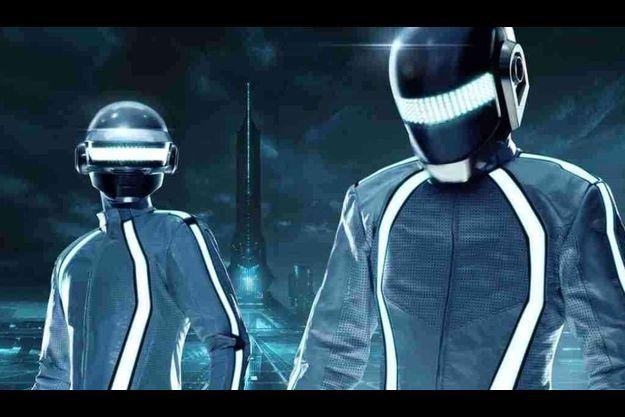 Les Daft Punk version Tron